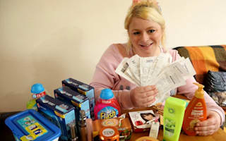 Extreme couponing cuts weekly shop to £7.50