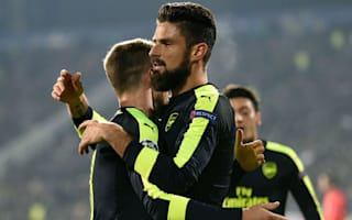 Ludogorets 2 Arsenal 3: Ozil completes stunning comeback to clinch qualification