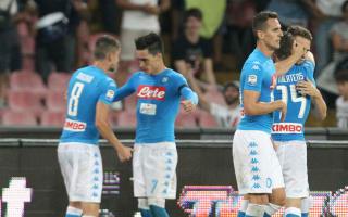 Napoli 4 AC Milan 2: Milik and Callejon at the double against Montella's nine men