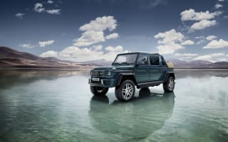Mercedes-Maybach launch new G Wagon Landaulet