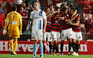 Western Sydney Wanderers 4 Melbourne City 3: Bridge bags double in top-of-the-table thriller