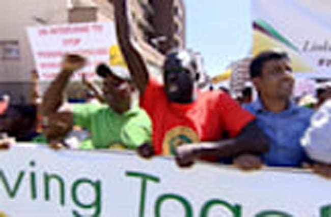 South Africans march against xenophobic attacks