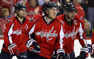 Oshie hat-trick seals game one for Capitals