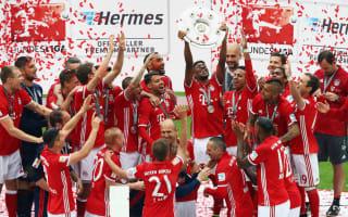 Bundesliga fixtures: Bayern begin title defence against Werder Bremen