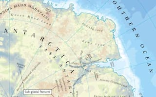New atlas shows unseen world under polar ice