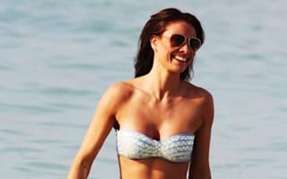 Melanie Sykes turns heads on the beach in Dubai