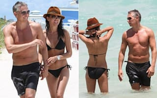 Gary Lineker hits the beach in Miami
