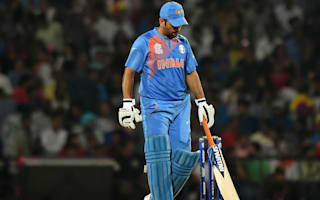 Dhoni unhappy with lack of partnerships