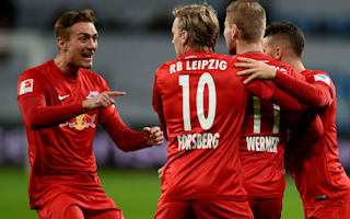 RB Leipzig reach Bundesliga summit with Leverkusen scalp