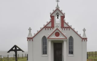 Wooden plaques stolen from Orkney's Italian Chapel
