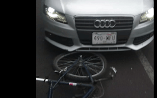 Footage of driver crashing into cyclist in Mexico City goes viral
