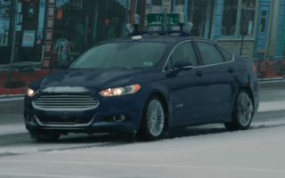 Ford tests autonomous cars in snowy conditions