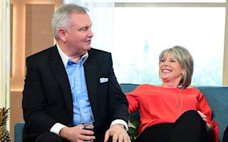 Eamonn Holmes brands reports of him sleeping on live TV 'fake news'
