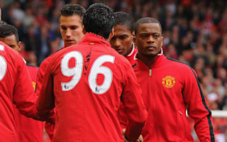 Evra hails old rival Suarez as 'the best number 9'