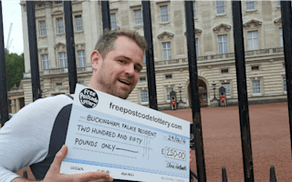 The Queen wins free postcode lottery: Buckingham Palace scoops £250