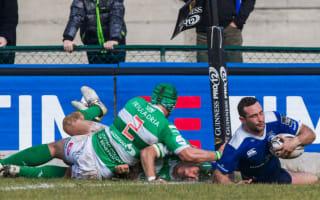 Kearney hits double on Leinster return