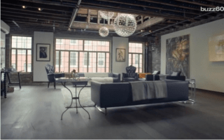 This luxurious Manhattan apartment costs $1 per month to rent