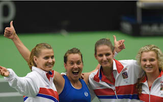 Czech Republic and Belarus among Fed Cup semi-finalists