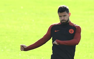 Aguero benched for Barcelona clash