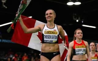 Theisen-Eaton surges home to win pentathlon