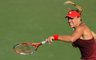 Kerber falters but marches on