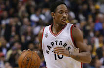 DeRozan happy in Toronto amid interest