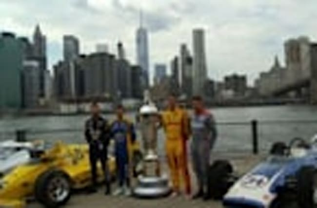Indy Racers Visit NYC Ahead of 100th Race