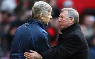 Wenger in the same bracket as Ferguson - Jensen
