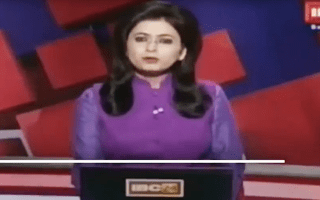 News anchor somehow keeps it together while reporting the crash that killed her husband