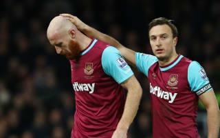 West Ham dealt Collins blow