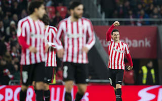 Athletic Bilbao 2 Barcelona 1: Aduriz shines as nine-man Athletic hold off Barca in thriller