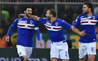 Genoa 2 Sampdoria 3: Montella's men hold on claim bragging rights
