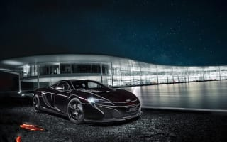 McLaren shows off special edition 650S