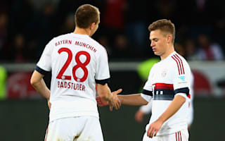 Bayern boss Guardiola hails Kimmich for keeping Chicharito quiet