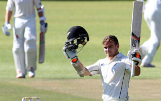 Latham century highlights Black Caps' dominant day