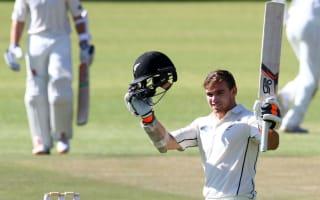 Latham century highlights Black Caps' dominant day