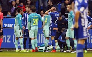 Barcelona's Vidal sidelined for five months with dislocated ankle