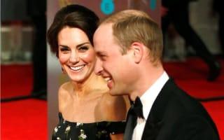 Royals to rub shoulders with Hollywood stars at Bafta awards