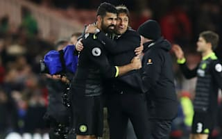Conte hails Costa's all-round form after firing Chelsea top