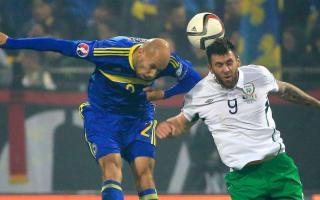 Bosnia-Herzegovina 1 Republic of Ireland 1: Battling draw puts Ireland in pole position