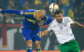 Bosnia-Herzegovina 1 Republic of Ireland 1: Battling draw puts Ireland in pole position