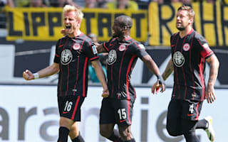 Eintracht Frankfurt 1 Borussia Dortmund 0: Aigner the hero again as BVB's challenge ends