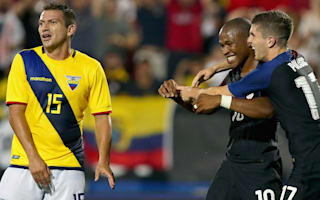 United States 1 Ecuador 0: Last-gasp Nagbe goal lifts hosts in Copa America warm-up