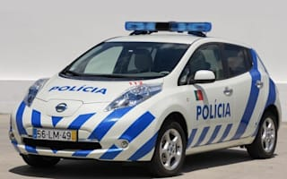 Portuguese police get Nissan Leafs