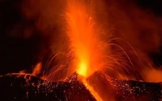 Watch: Mount Etna erupts overnight