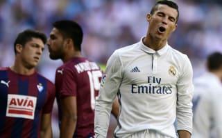 Real Madrid 1 Eibar 1: Zidane under pressure after fourth draw in a row