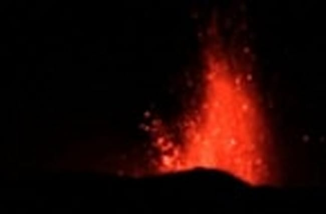 Italy's Mount Etna erupts into life