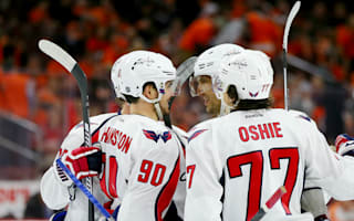 Capitals go 3-0 up over Flyers, Kings pull one back against Sharks