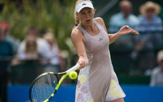 Wozniacki falls to Kontaveit in Nottingham