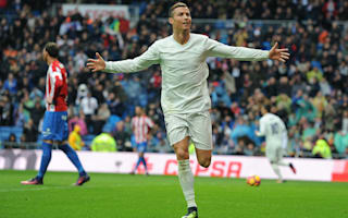 Real Madrid 2 Sporting Gjion 1: Ronaldo at the double as visitors pay the penalty